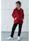 1570/1372 Спортивный костюм NEW (красный)