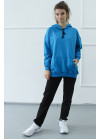 1570/1372 Спортивный костюм NEW (голубой)