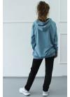1570/1372 Спортивный костюм NEW (джинс)