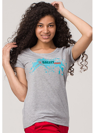6121 Футболка - Ballet style Grace (5 кольорів)