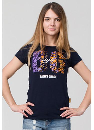 6122 Футболка - Ballet Grace style BG (5 кольорів)