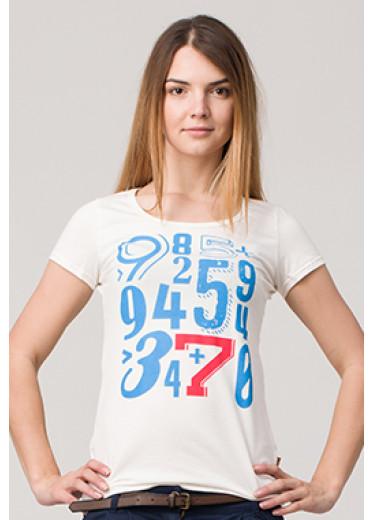 6124 Футболка - Цифри (6 кольорів)