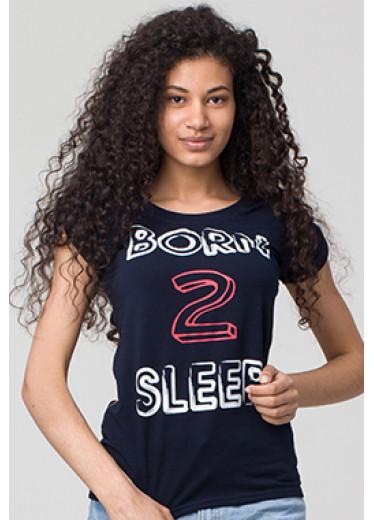 6127 Футболка - Born 2 sleep (5 кольорів)