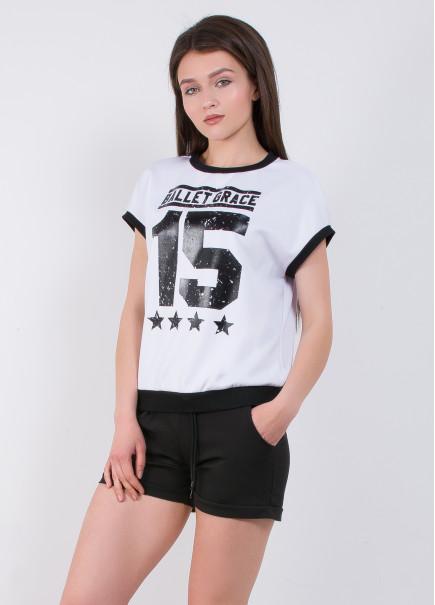 9701 Костюм (футболка, шорти) (2 КОЛЬОРУ)
