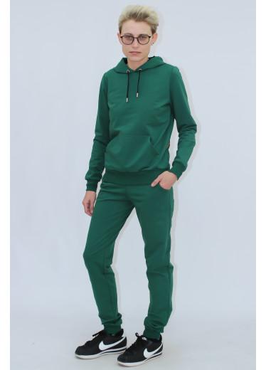1580/0373 Спортивний костюм (зелений)