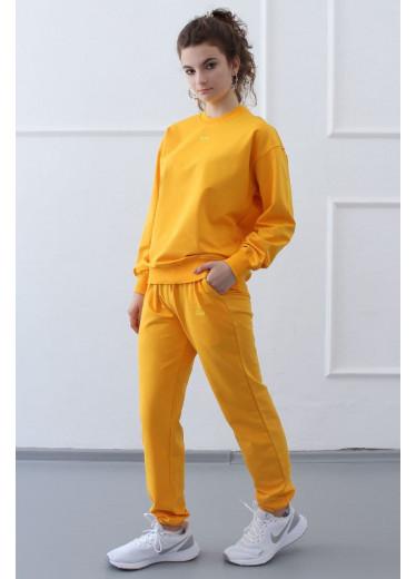 1392/1502 Спортивний костюм (жовтий)