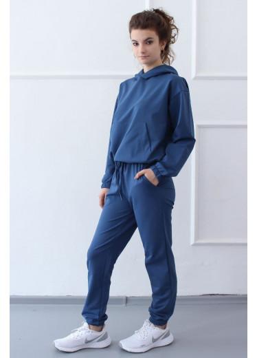 1585/1385 Спортивний костюм NEW (джинс)