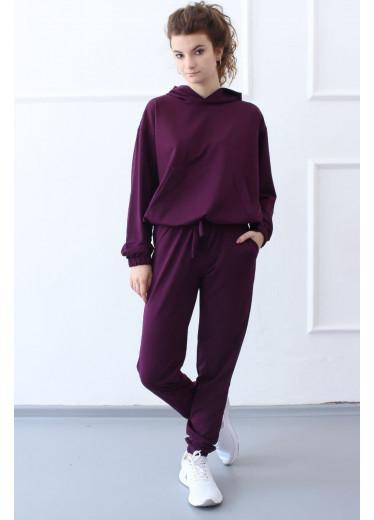 1585/1385 Спортивний костюм NEW (фіолетовий)