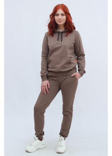 1580/1371 Спортивний костюм (шоколад)